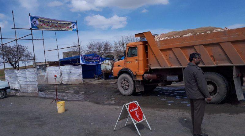 روزانه ۱۵۰۰ خودرو حین ورود به منطقه آزاد ماکو ضدعفونی میشود