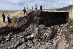 """جاری شدن سیل در """"بورالان"""" ماکو خسارتهایی برجا گذاشت"""